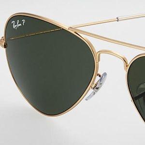 Ray Ban 3028 Aviator Large Sunglasses